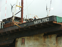 Sealand from below