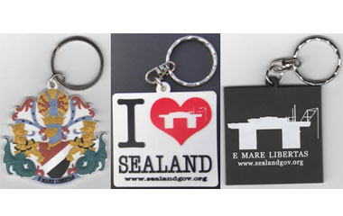 sealand keyrings