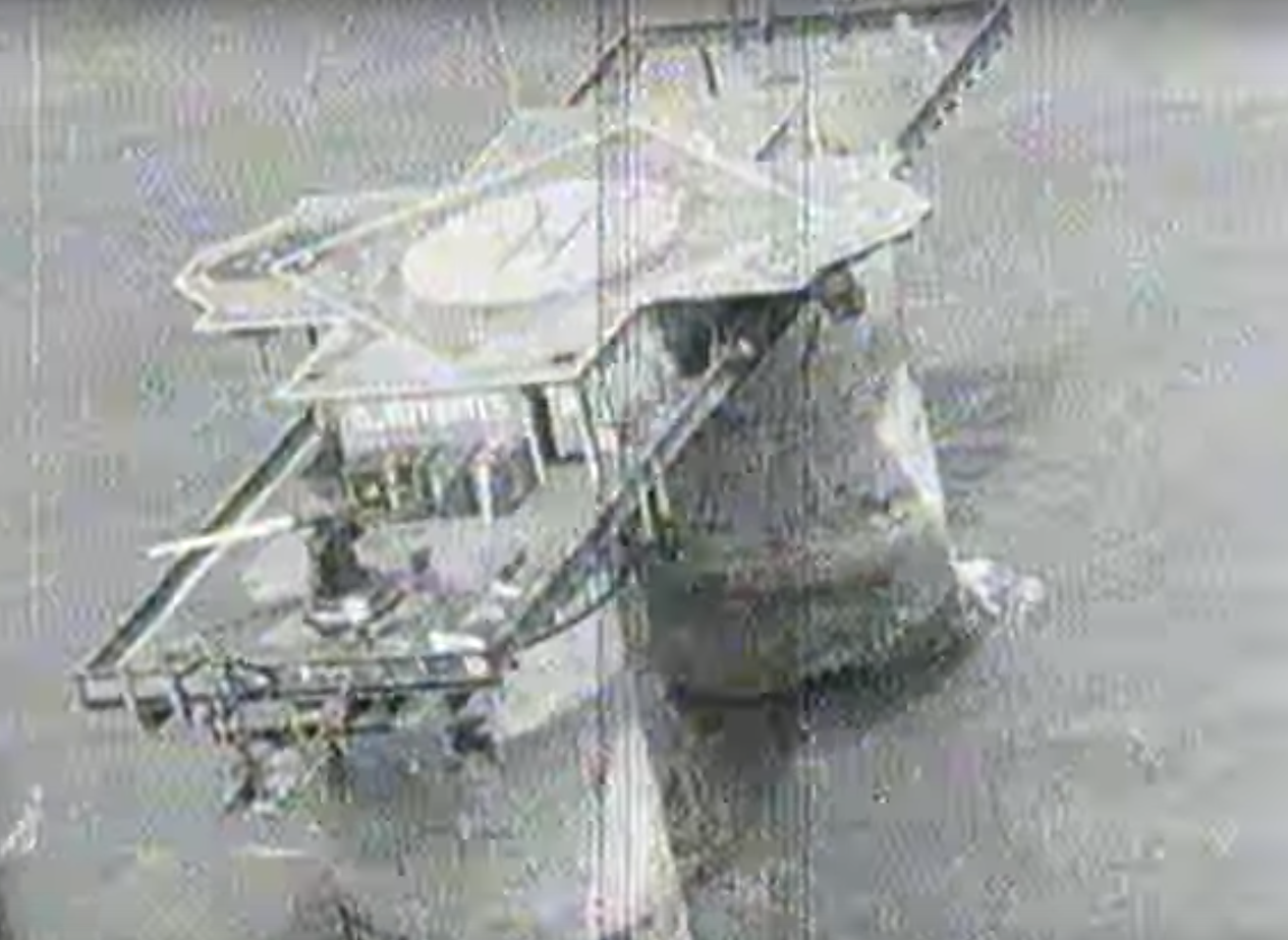 Sealand after the Invasion 1978 BBC1 News