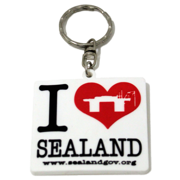 i love sealand keyring