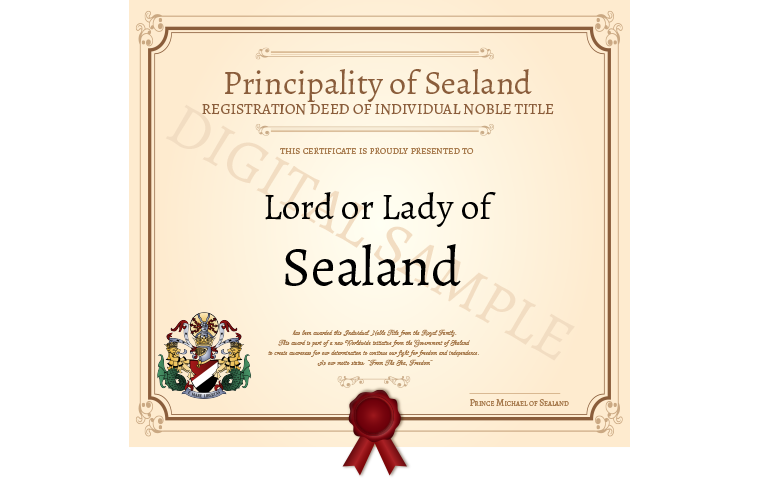 become a lord